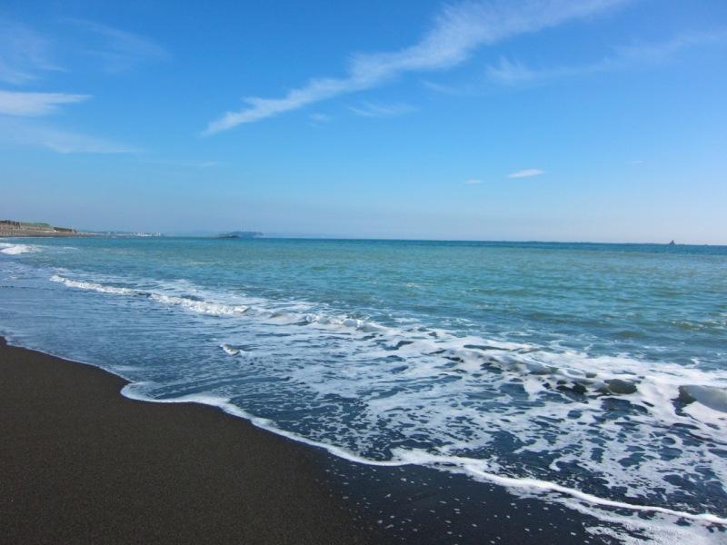茅ヶ崎の海