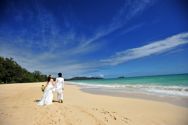 hawaii wedding photo