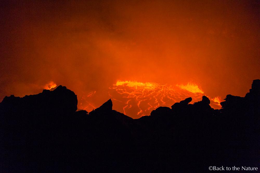 恐怖の絶景!エチオピ・ダナキルのエルタアレ火山 Ethiopia Erta Ale Volcano