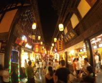 歴史感じる街並み!中国10大歩行商店街・成都「錦里」