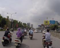 ハノイからタムコックへバイク移動②ベトナムの交通事情