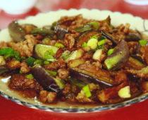 桂林・シンピンで毎晩食べてた「茄子豚肉炒め」と余談