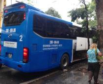 ハノイからサパへ!長距離バス移動