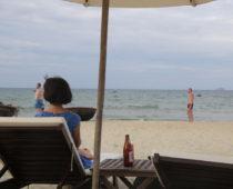 ホイアンのクアダイビーチが静かで癒しスポットだった!