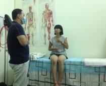 ちょく、じんましん発症!ベトナムでこの旅初めての病院へ