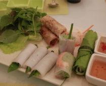 ホーチミンの巻きもの専門店「Wrap&Roll」で最後のベトナム飯!