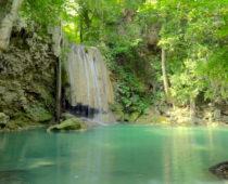 天然ドクターフィッシュと泳げるエラワンの滝!
