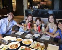 バンコクの有名店「サラ・ラタナコーシン」でよさこい仲間と豪華ディナー!