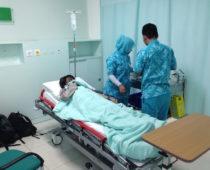 高熱&激痛でちょくが緊急入院・・・