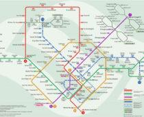 《行き方》シンガポール・チャンギ国際空港から市内まで電車で行き方