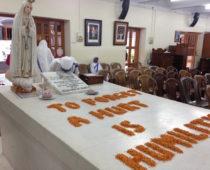 コルカタのマザー・ハウスでボランティア