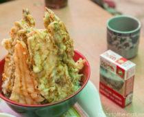 カトマンズの安くてウマイ日本食屋「絆」の丼ぶり(メニュー写真有)