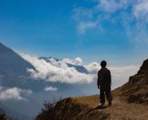 エベレストトレッキング9日目(高度順応日)絶景ホテルまでミニトレッキング