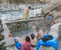 秘境温泉巡りトレッキングDay6(ラトパニ)ネパールNo.1のラトパニ温泉!