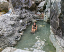 秘境温泉巡りトレッキングDay11(中編)秘境ダルミジャ温泉へ入湯