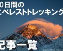笑いあり涙あり!30日間のエベレストトレッキングの記事一覧
