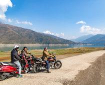 アジア最大の人造湖「Tehri Dam」へのバイク旅