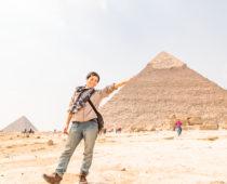 ピラミッドに感動してたら、あの有名サッカー選手のせいで追い出された話