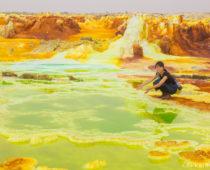 旅史上No.1の絶景!エチオピア・ダナキルツアー2日目〈色鮮やかなダロル火山編〉