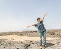 旅史上No.1の絶景!エチオピア・ダナキルツアー3日目前半〈世界で一番暑い場所!灼熱ドライブ〉