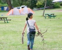 ナイバシャ湖周辺9泊10日のキャンプ旅スタート!初日からいきなり巨大動物!