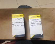ナイロビでA型肝炎の予防接種を受ける!