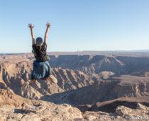 レンタカーでナミビア国境越え!死線を越えて向かう世界二位の絶景大渓谷