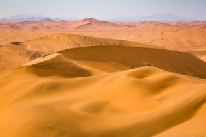Namib desert view 世界最古の砂漠・ナミブ砂漠・砂丘より(ナミビア )
