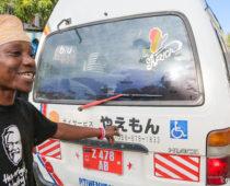 全国の皆さん見覚えは?アフリカを走る日本のオモシロ中古車たち