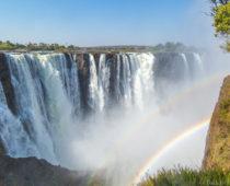 ジンバブエ・ビクトリアの滝へ!乾季の世界三大瀑布ってどうなの?