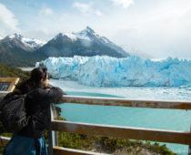 夫婦初のヒッチハイクは世界で3番目に大きな氷河まで